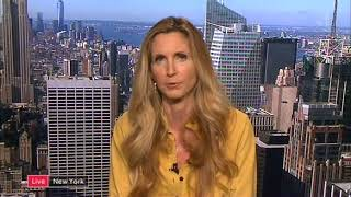 Ann Coulter Donald Trump Tweets Channel 4 News 2017
