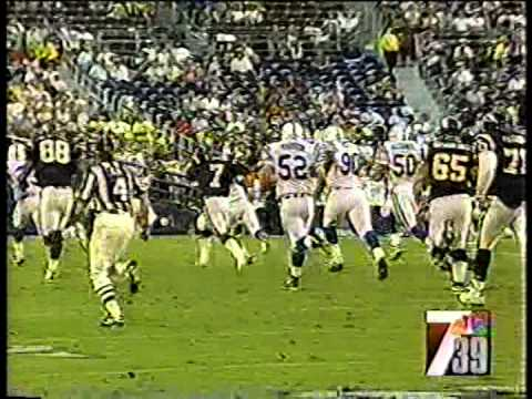 Colts vs. Chargers, 1997