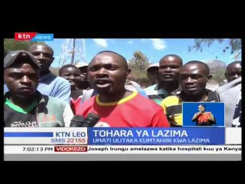 Mwanamme wa miaka 40 aokolewa na polisi, umati ukitaka kumtahiri kilazima
