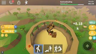 Roblox crushing simulator part 5:look at me crushing a log pile