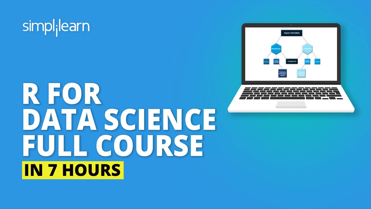 R For Data Science Full Course | Data Science With R Full Course |Data Science Tutorial