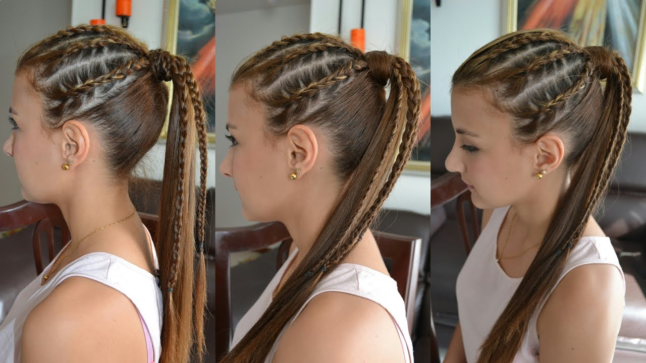 Trenzas Africanas Con Coleta Peinado Casual By Belleza Sin Limites - Peinados-con-tranzas