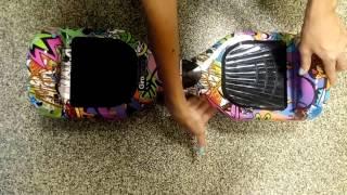 видео Гироскутер PALMEXX Smart Balance Wheel 8