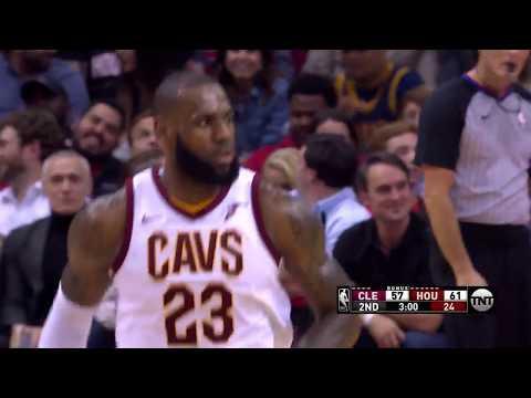 Cleveland Cavaliers vs. Houston Rockets - November 9, 2017
