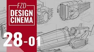 Design Cinema – EP 28 - Vehicle Sketching Part 01