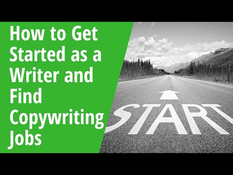How to Get Started as a Writer and Find Copywriter Jobs: INSIDE AWAI