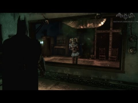 Batman: Arkham Asylum - Walkthrough - Chapter 31 - Harley's Trap