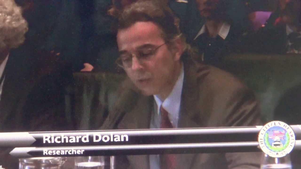 Richard Dolan, UFO speech, Best speech ever, Citizen Hearing on Disclosure, Rich Dolan, IMU,