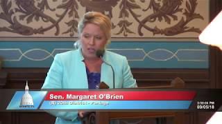 Senator Margaret O'Brien resolution honoring U.S. Sen John McCain