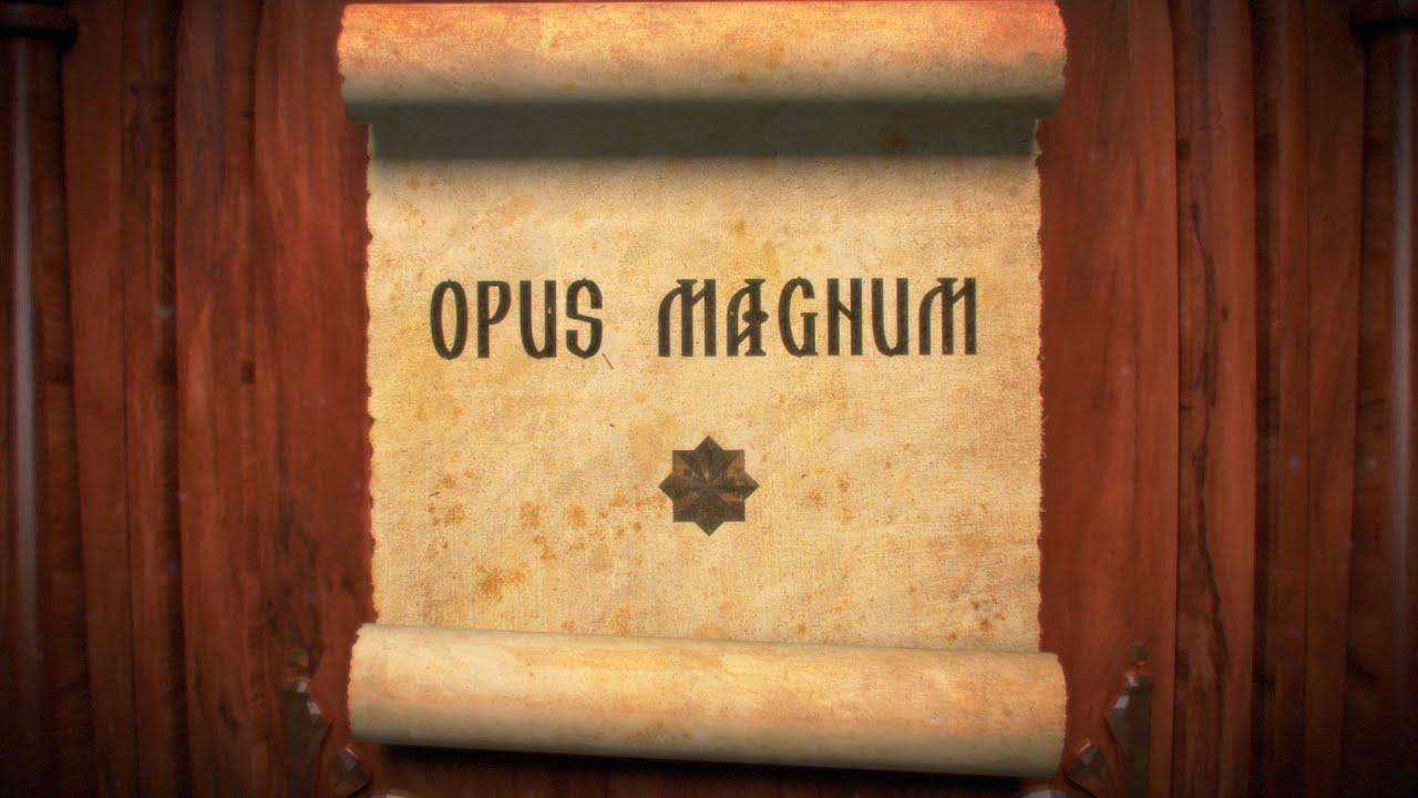 """Opus Magnum. Дионис Каптарь.""""Образ зла"""""""