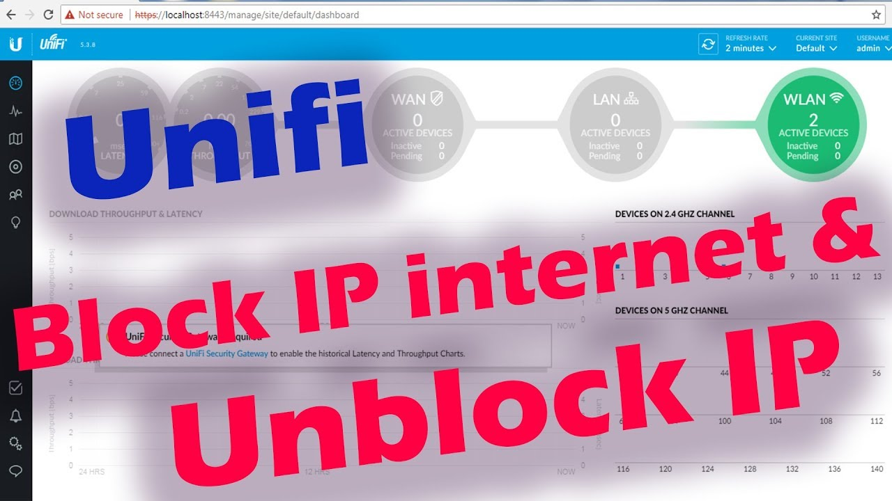 Quick Way How to Block & Unblock People From Using Internet Wifi in Unifi  Router