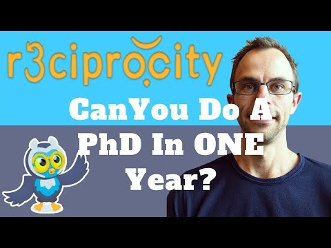 Can You Do A PhD In One Year? How Do You Complete A PhD In Two Years? ( Tips For Getting A PhD )