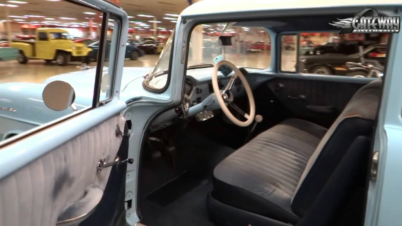1955 chevrolet 150 for sale at gateway classic cars in our st louis mo showroom youtube. Black Bedroom Furniture Sets. Home Design Ideas
