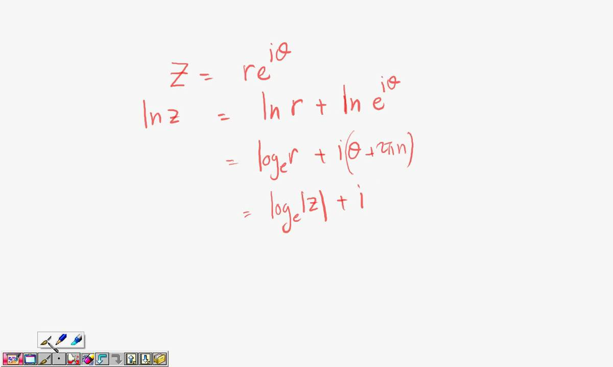 Elementary Functions The logarithm as an inverse function