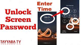 Amazing Way To Unlock Android Screen Lock Password | Screen Lock Time Password Tutorial screenshot 3