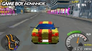 Street Racing Syndicate (Gameboy Advance Gameplay)