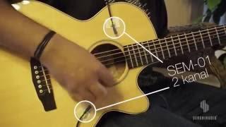 SERUNIAUDIO™ // SEM-01 Recording Gitar Akustik - Komparasi Posisi Mikrofon SEM-01