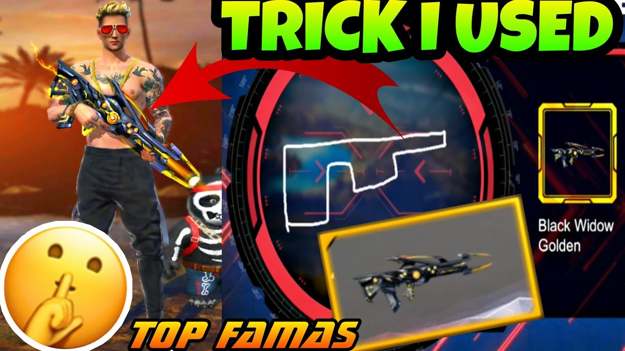 How To Get New Famas Skin Tricks I Used To Get The New Skin Garena Free Fire