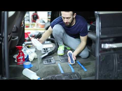 NASTY Car Carpet Cleaning 4 Easy Ways! Car Interior Cleaning Like A Pro