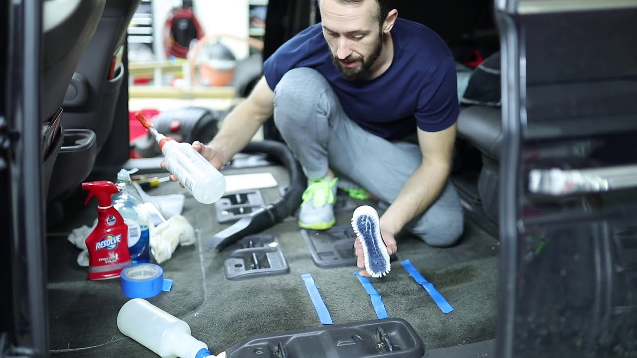 Nasty Car Carpet Cleaning 4 Easy Ways Car Interior Cleaning Like A Pro Youtube