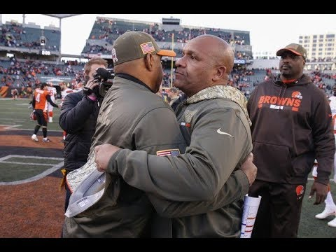 - Hue Jackson Reportedly Reuniting With Marvin Lewis In Cincinnati