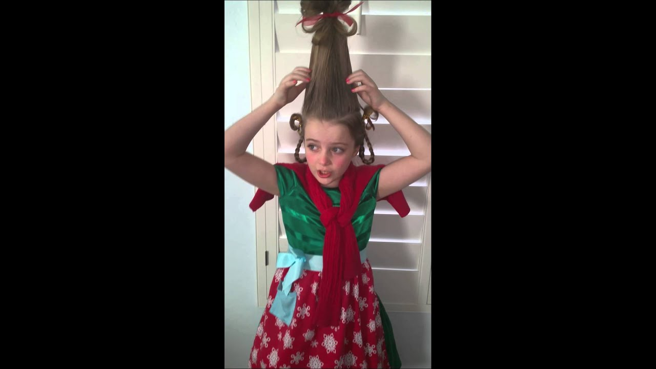 how to get cindy lou who hair