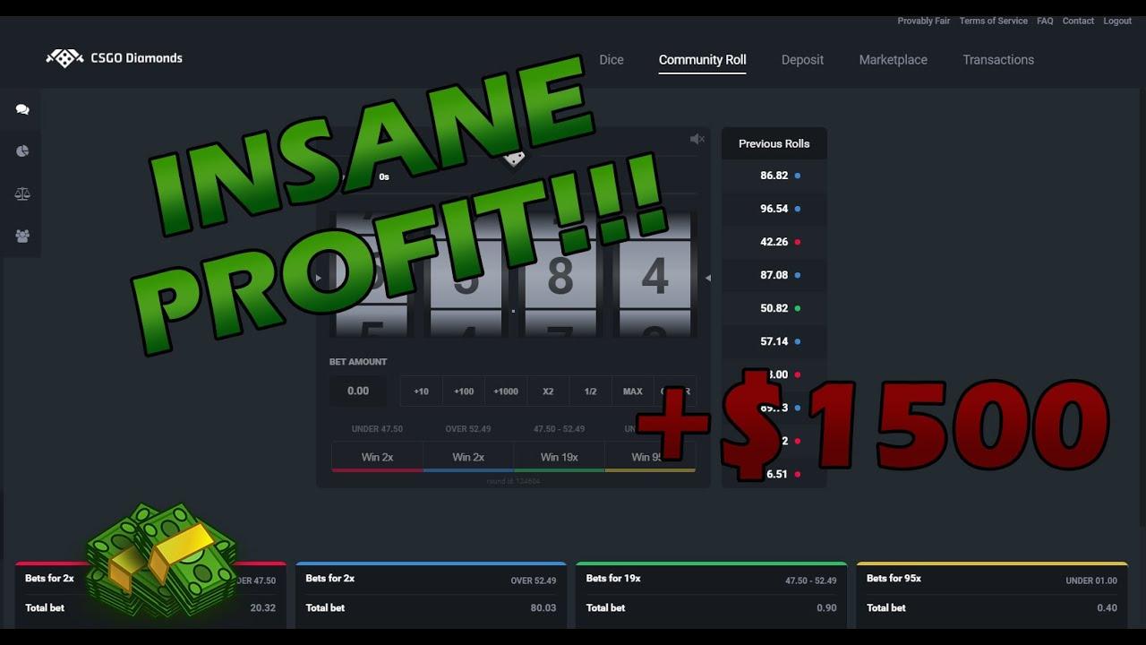 Insane cs go betting arena money saving expert forum matched betting united