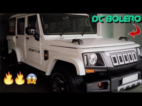 Mahindra Bolero Camper Modified