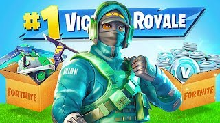 FORTNITE *NEW* RARE $300 REFLEX SKIN!! (Fortnite Live Gameplay)
