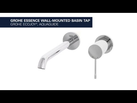 grohe essence 2 hole basin faucet with 230 mm projection