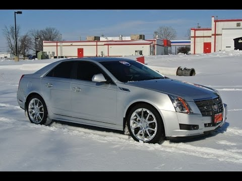 2010 Cadillac Cts Silver For Sale Dealer Dayton Troy Piqua