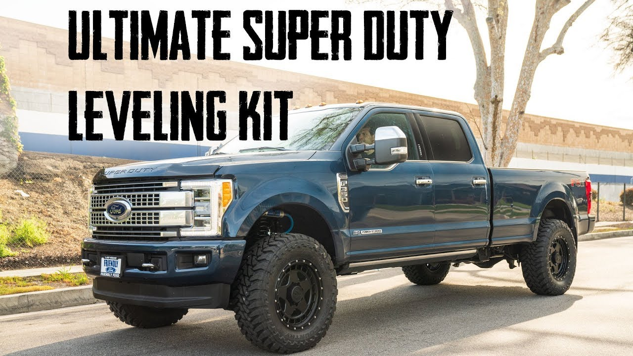 2017 F250 Leveling Kit >> The Ultimate Ford Super Duty Leveling Kit