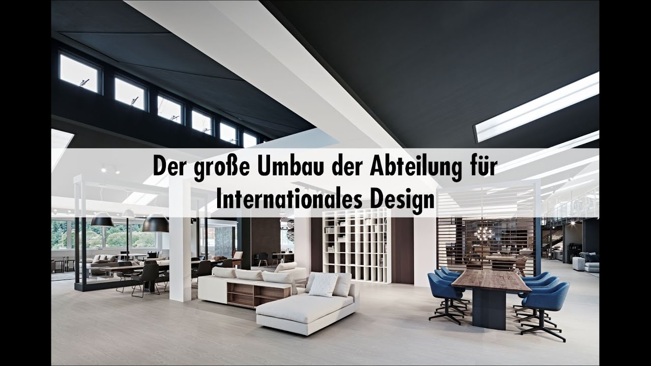 einrichten schweigert umbau internationales design auf youtube. Black Bedroom Furniture Sets. Home Design Ideas