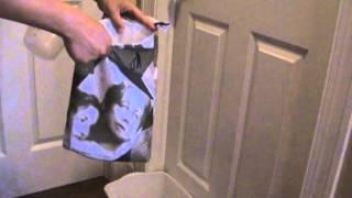 100% waterproof auto/car trash bag, emergency potty