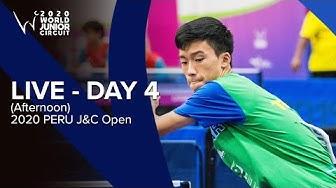 Day 4 (Afternoon) - ITTF 2020 Peru J&C Open