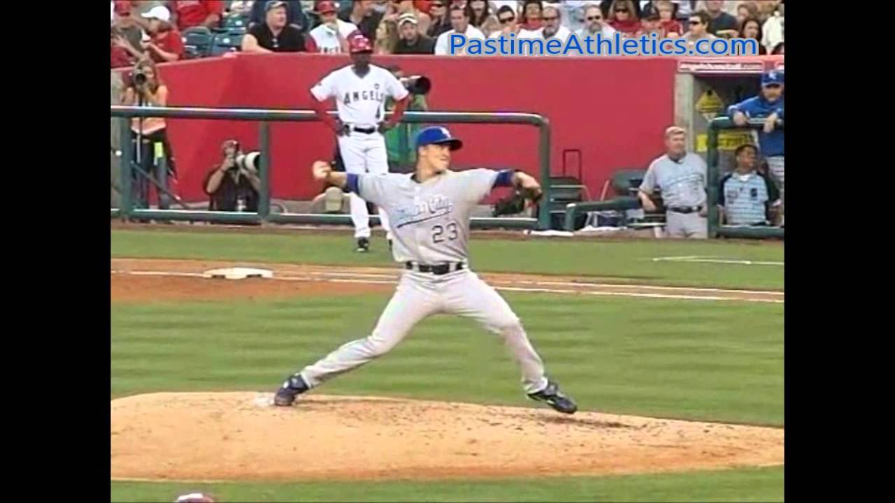 Zack Greinke Pitching Mechanics Slow Motion Baseball Instruction ...