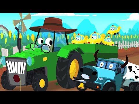 У старого Макдональда была ферма | фермерские песни | Old MacDonald Songs