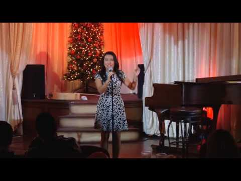 "Nayeli Cervantes- Knuth Sings "" Hello""    ( 12/13/2015 )   Las Vegas, Nevada"