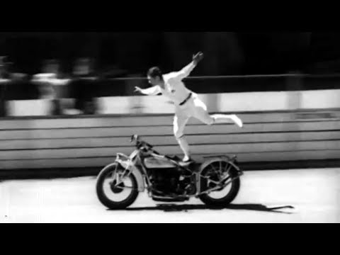 VINTAGE MOTORCYCLE STUNTS