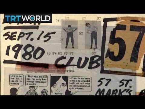 Club 57 inside the Museum of Modern Art