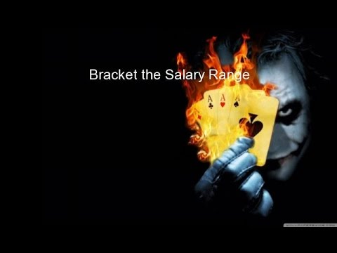 Bracket the Salary Range