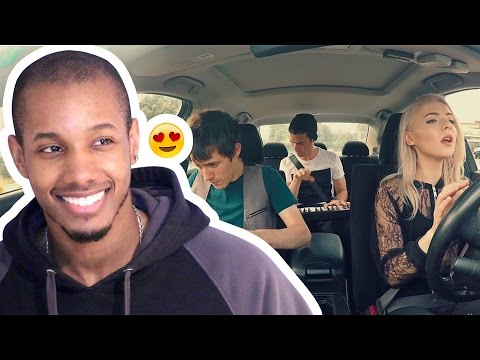 UNSTEADY - X AMBASSADORS - CAR STYLE - MADILYN BAILEY & KHS COVER  REACTION