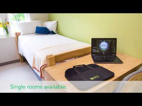 Unity College housing video.