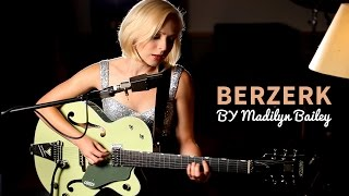eminem berzerk acoustic cover by madilyn bailey official music video