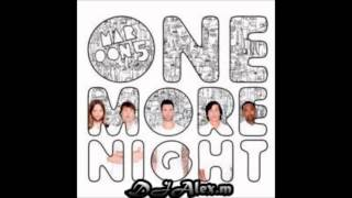 Maroon 5-One More Night(DJ Alex.MK REMIX)