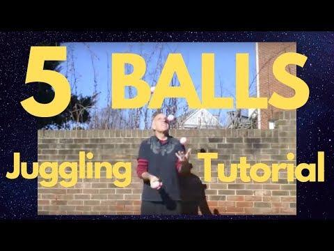 5 ball juggling tutorial youtube.
