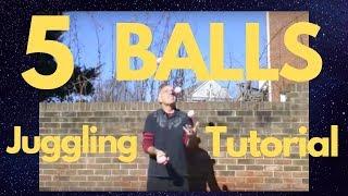 Video The secret to learning to juggle five balls download MP3, 3GP, MP4, WEBM, AVI, FLV Oktober 2018