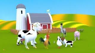 Песни для детей. Мультик для детей про домашних животных. Детские песни.