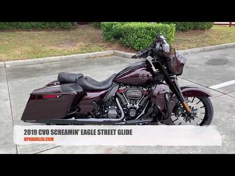 2019 Harley-Davidson CVO Street Glide in Wineberry for sale