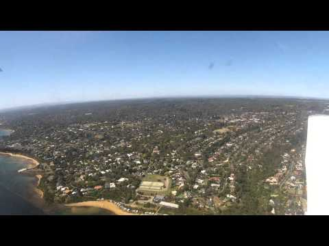Flying Moorabbin to Phillip Island and back Bay Coastal with Grant Riddell